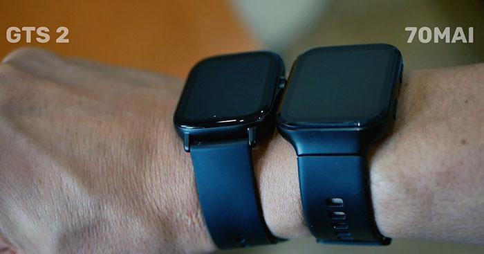 70mai saphir watch и Amazfit GTS 2