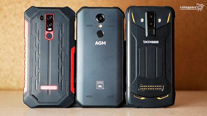 сравнение AGM A9 и Ulefone Armor 6
