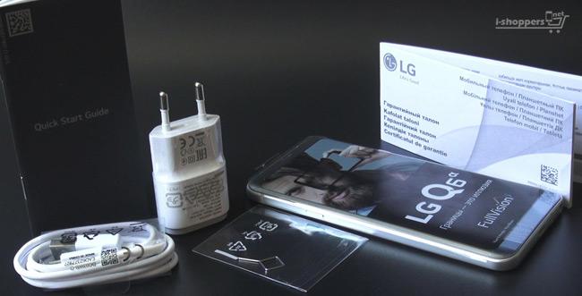 официальный комплект LG Q6
