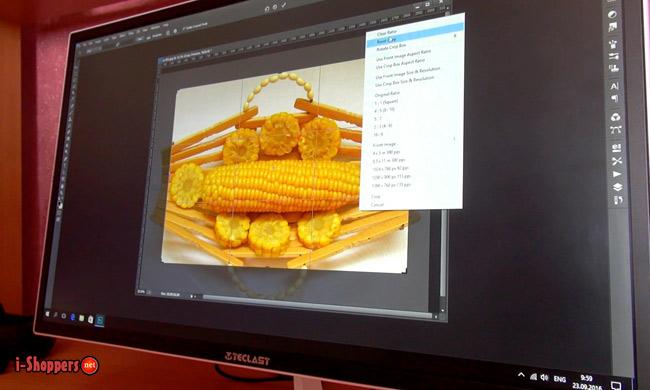 фотошоп на моноблоке Teclast Air X22