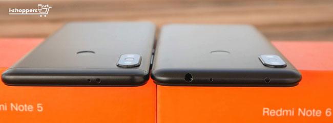 сравнение Redmi Note 6 Pro и Redmi Note 5