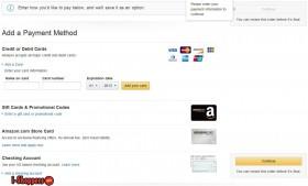 оплата в Amazon.com