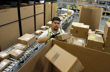 способы доставки из Amazon.com