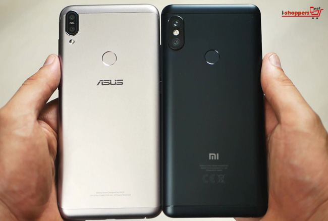 сравнение Asus Max pro m1 против Redmi Note 5