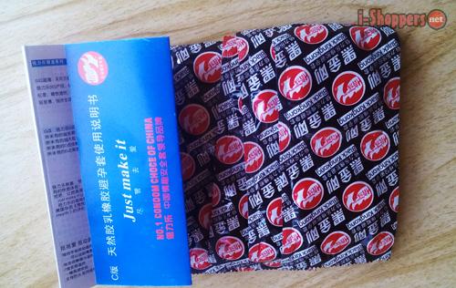 отзыв о презервативах с Aliexpress