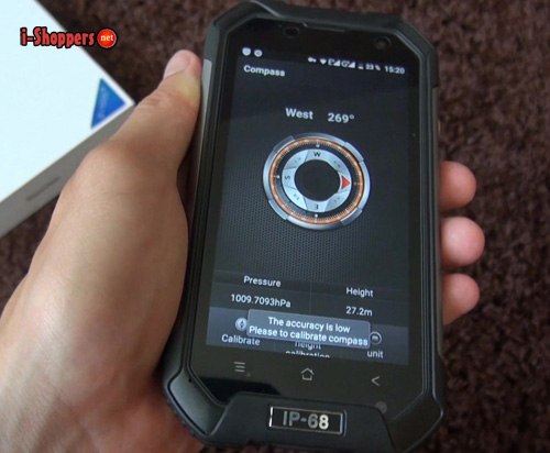 компас и датчик давления BV6000