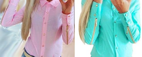 недорогая и стильная блузка с Алиэкспресс фото