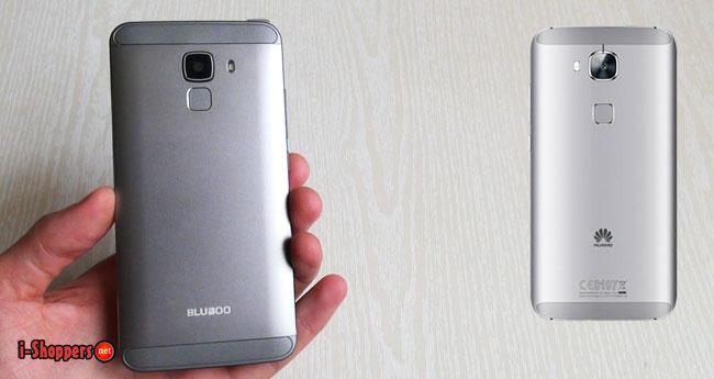 bluboo xfire 2 дизайн как у Huawei G8