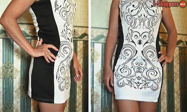 платье мини с Алиэкспресс