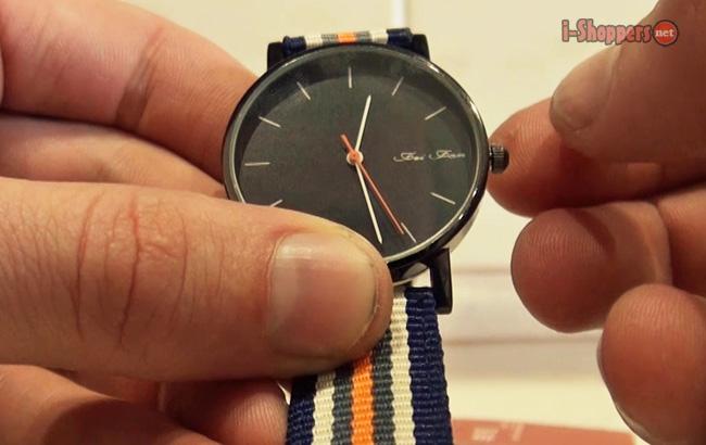 часы с ремешком под цвет флага