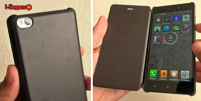 родной фирменный чехол-книжка Xiaomi