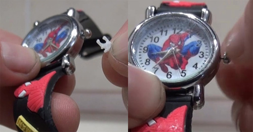 часы спайдермен с Алиэкспресс