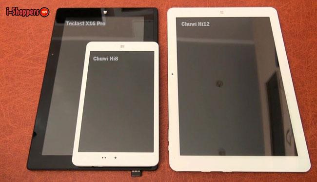 Chuwi Hi12 VS Teclast X16 pro