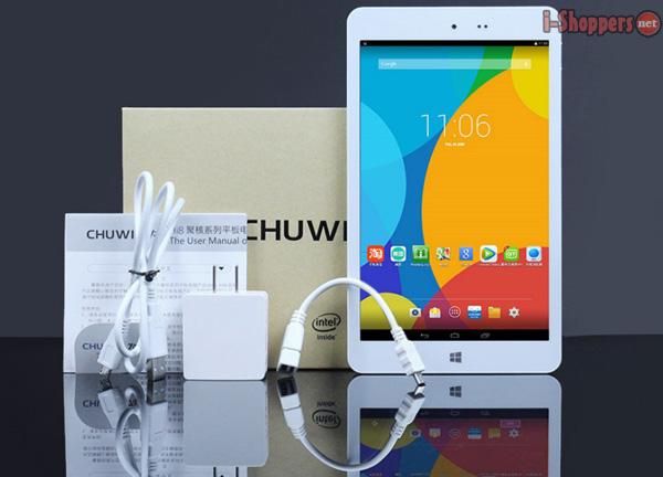 chuwi hi8 комплект поставки