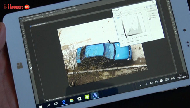 Photoshop на планшете