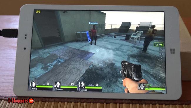 Left 4 Dead 2 на планшете