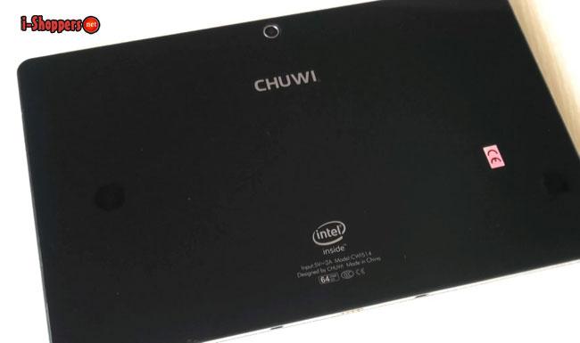 chuwi vi10 ultimate тыльная поверхность