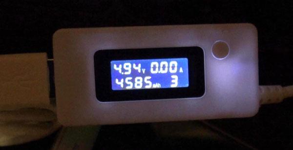 тест батареи Cubot H1