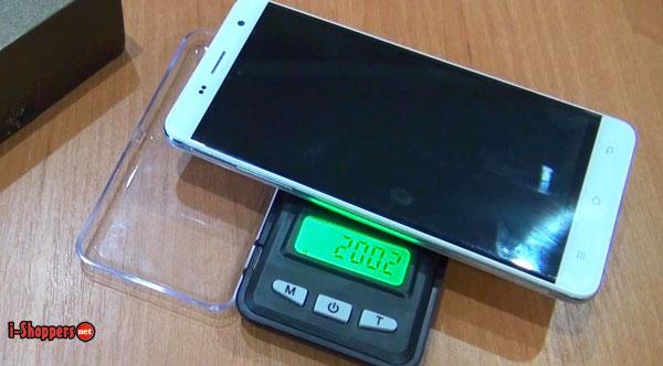 вес смартфона cubot H1 200 грамм