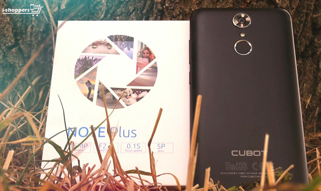 Cubot Note Plus review