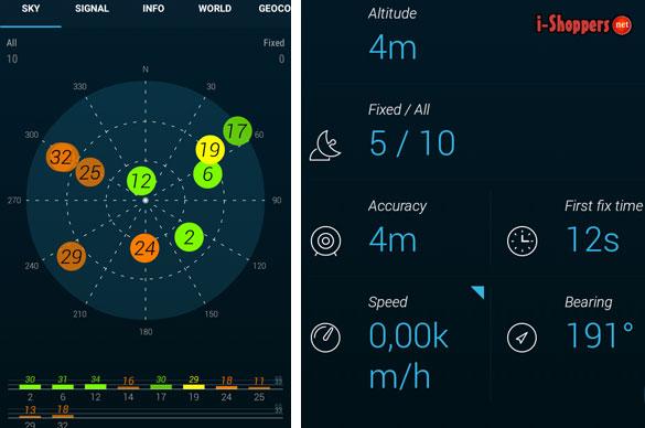проверка работы GPS