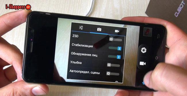 качество камеры Z100