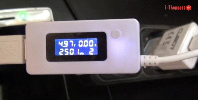 тест батареи Cubot S600