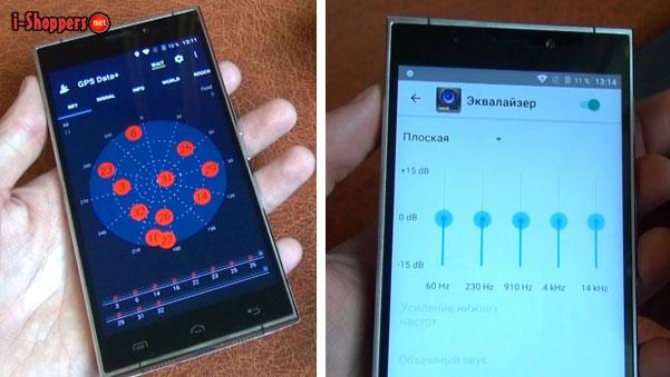 эквалайзер смартфона Дугги Ф5