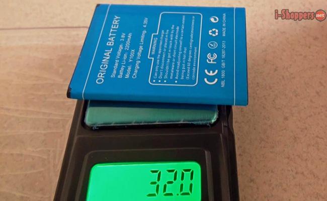 вес батареи и работа аккумулятора
