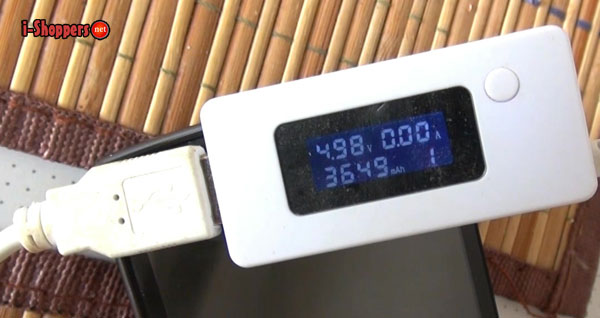 тест аккумулятора X5 MAX