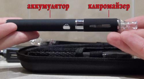 клиромайзер + аккумулятор EVOD