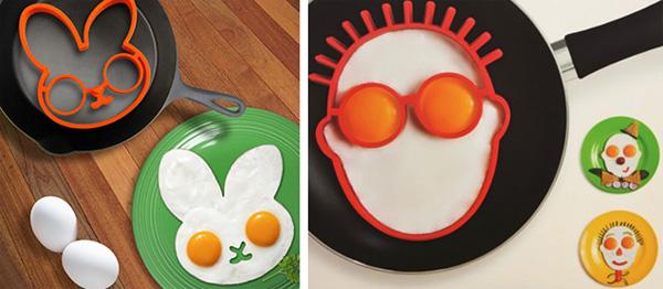 как приготовить яичницу в форме