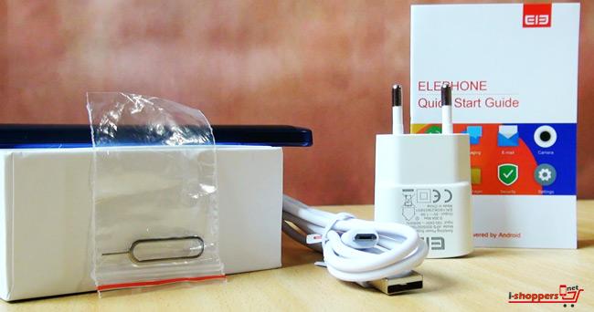 комплект поставки Elephone c1