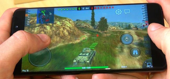 тест Elephone S7 в игре WOT BLITZ