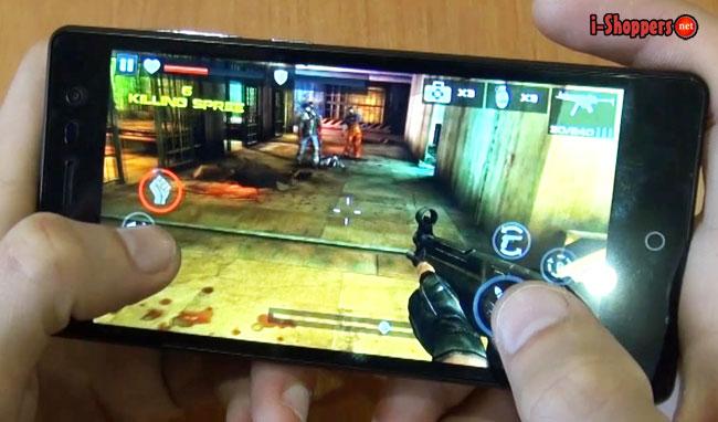 game test смартфона