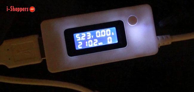 тест аккумулятора
