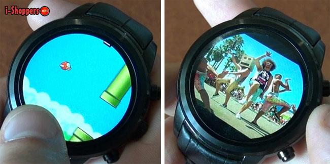 просмотр видео и игры на смарт часах