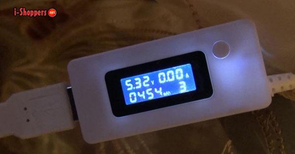 Finow X5 battery test