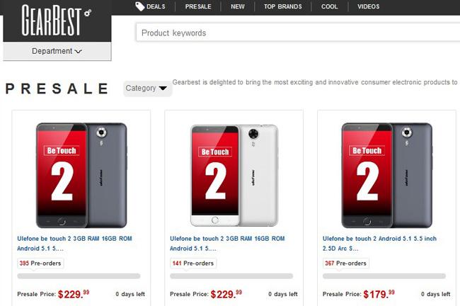 смартфоны по предпродаже