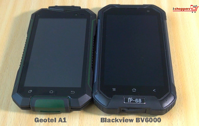 сравнение Geotel A1 VS Blackview BV6000