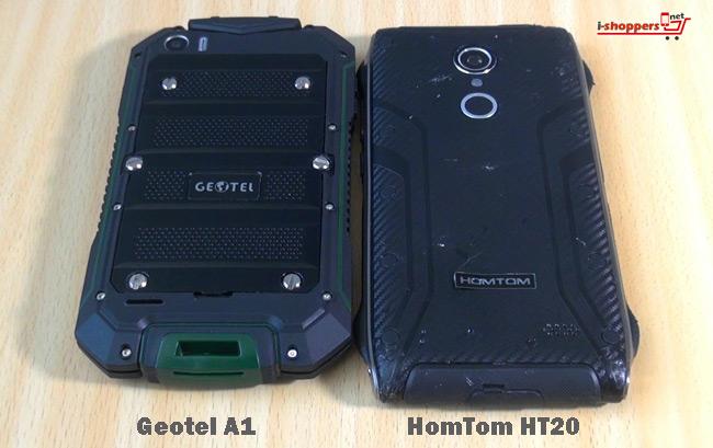 сравнение Geotel A1 VS HomTom HT20