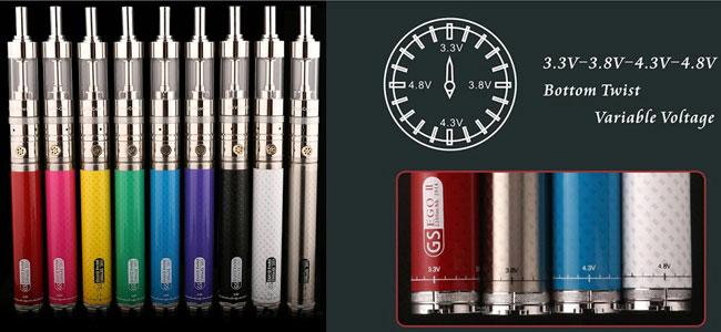 все цвета электронной сигареты
