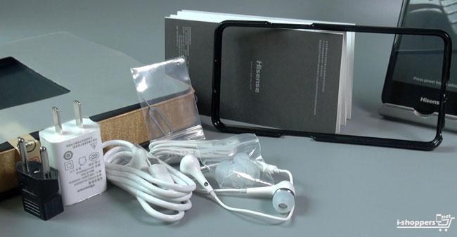 комплект поставки Hisense A2 с Алиэкспресс