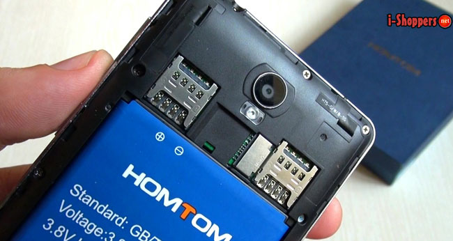 обзор и отзыв HomTom HT5