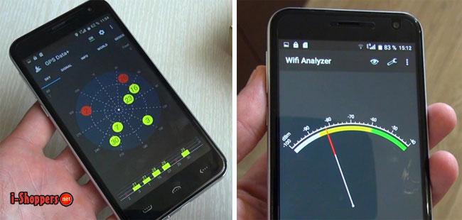 проверка GPS и WiFi