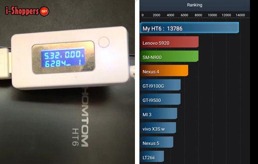 тест батареи HomTom HT6