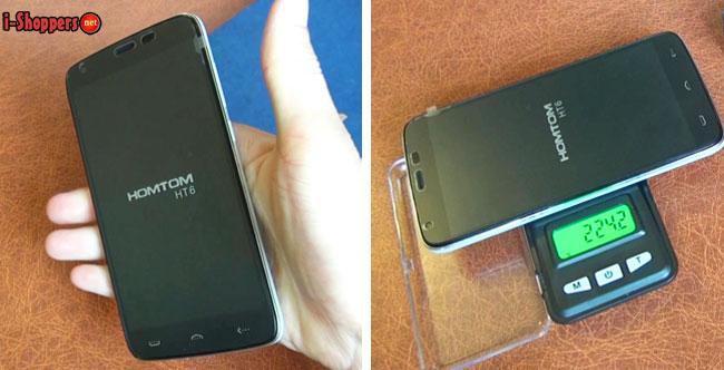 вес смартфона HT6