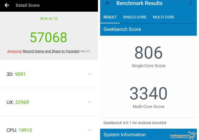 смартфон Honor 6X тест AnTuTu