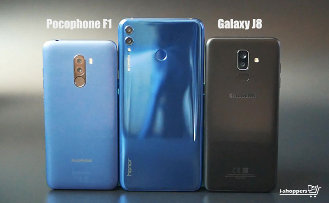 Honor 8X max VS pocophone