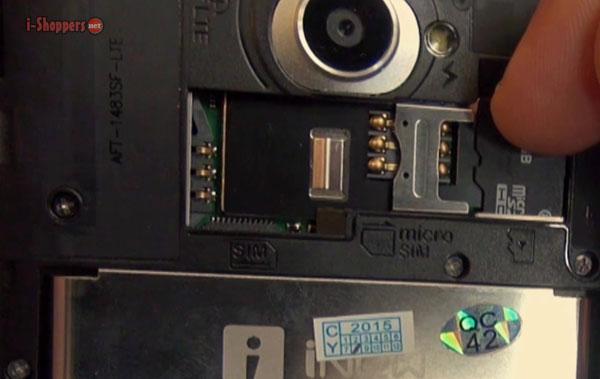 слот для карт памяти iNew L4